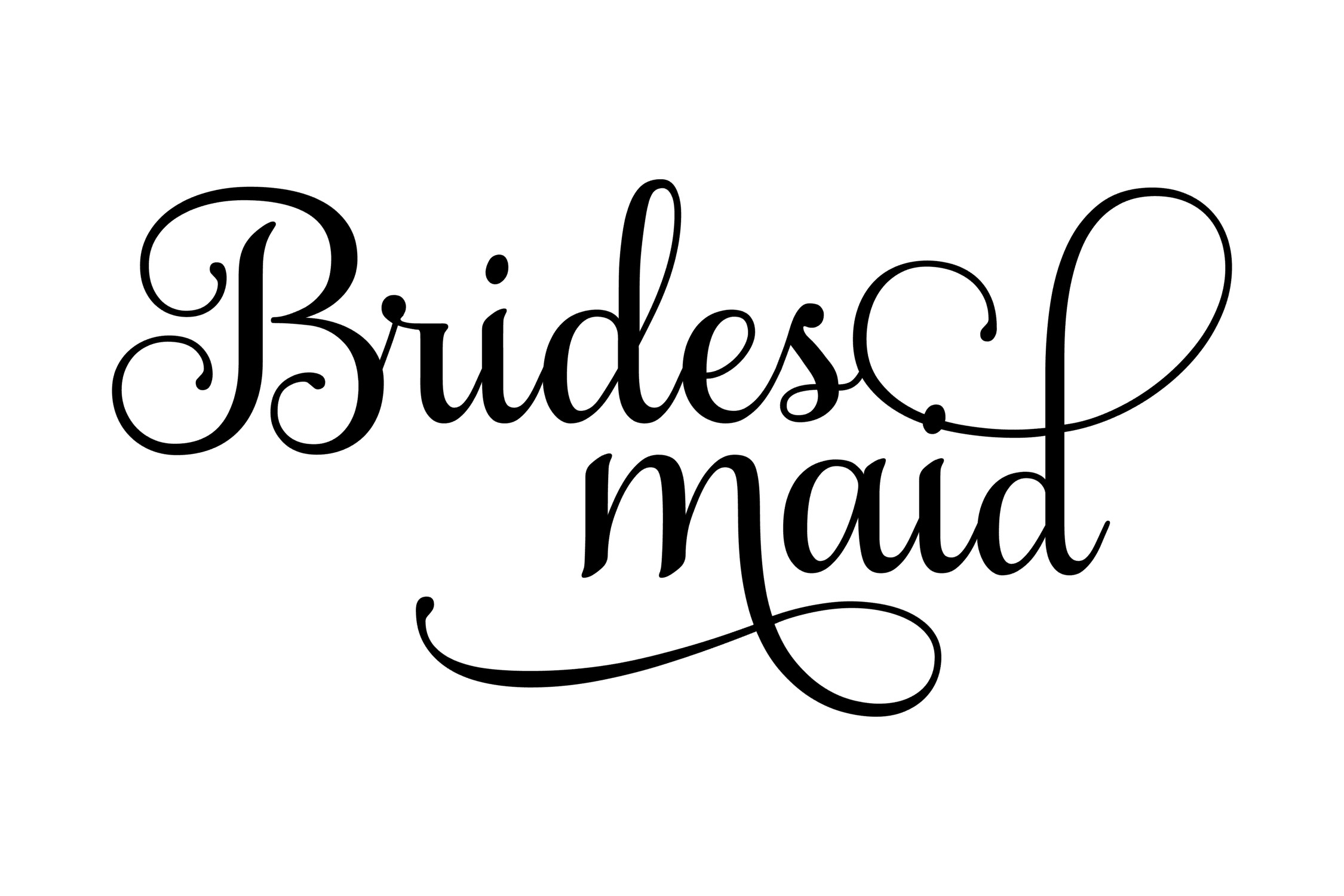 bridesmaid svg #1098, Download drawings