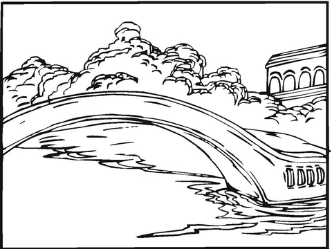 Bridge coloring #4, Download drawings