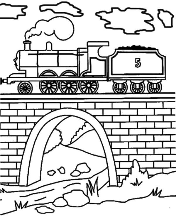 Bridge coloring #10, Download drawings