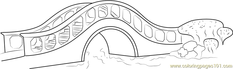 Bridge coloring #5, Download drawings