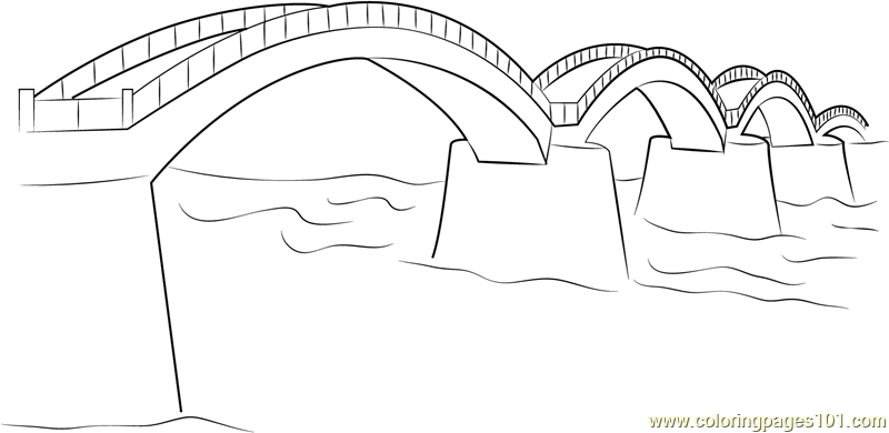 Bridge coloring #3, Download drawings
