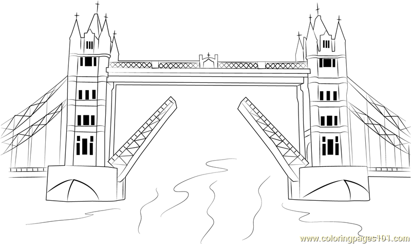 Bridge coloring #11, Download drawings