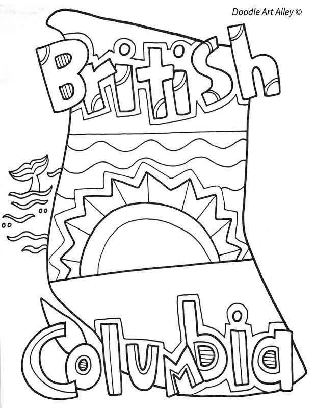 British Columbia coloring #6, Download drawings