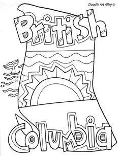 British Columbia coloring #18, Download drawings