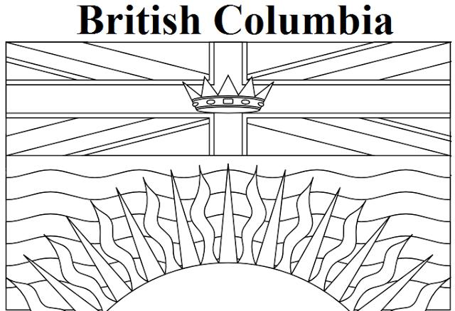 British Columbia coloring #13, Download drawings