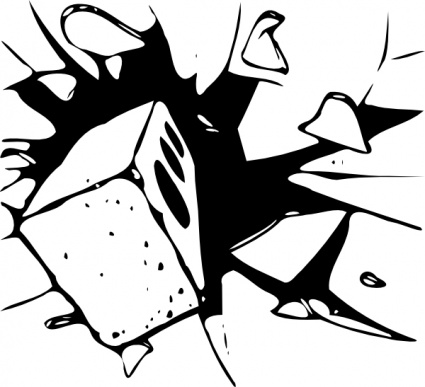 Broken Glass clipart #2, Download drawings