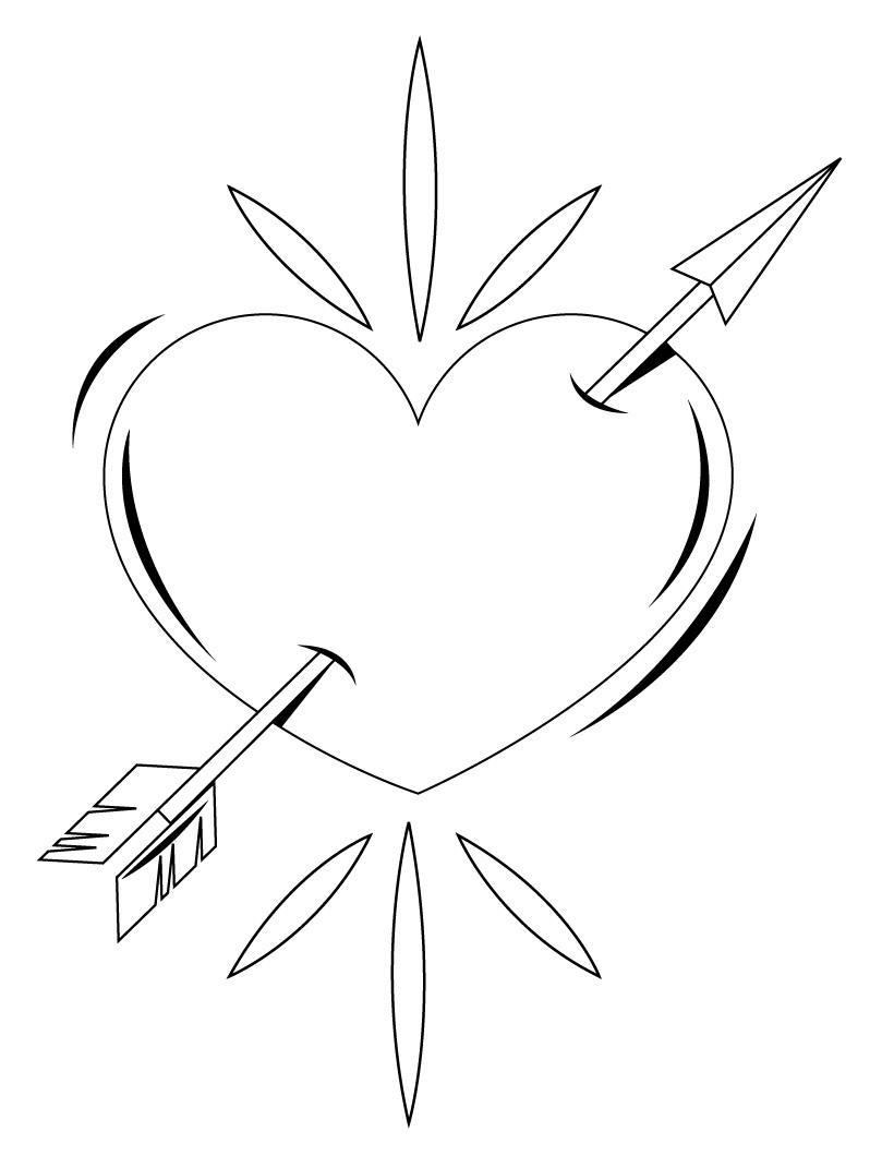 Broken Hearts coloring #19, Download drawings