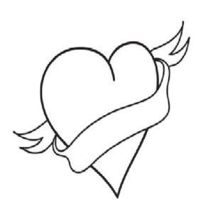 Broken Hearts coloring #6, Download drawings