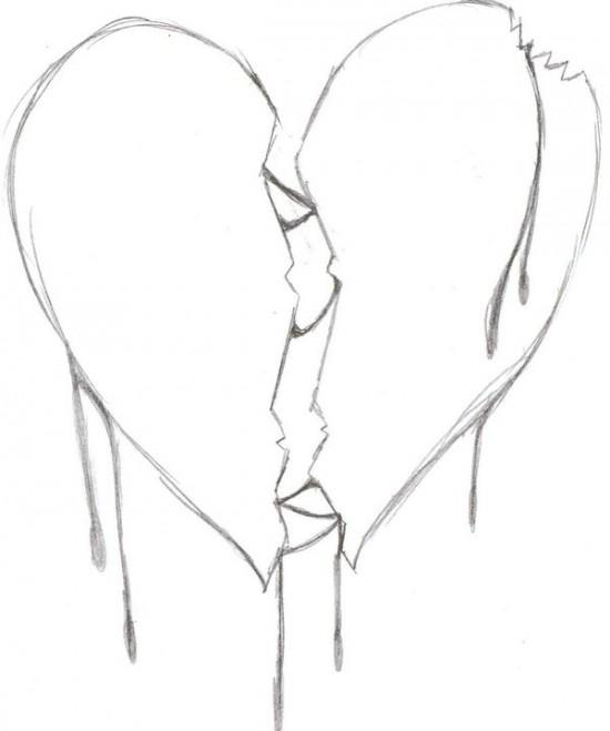Broken Hearts coloring #16, Download drawings