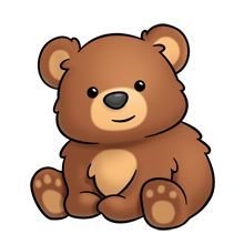 Brown Bear clipart #3, Download drawings