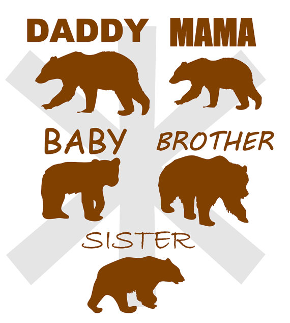 Grizzly Family svg #18, Download drawings