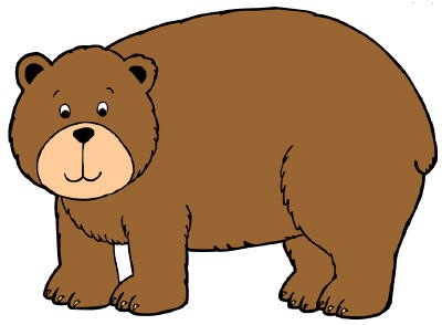 Bear clipart #2, Download drawings