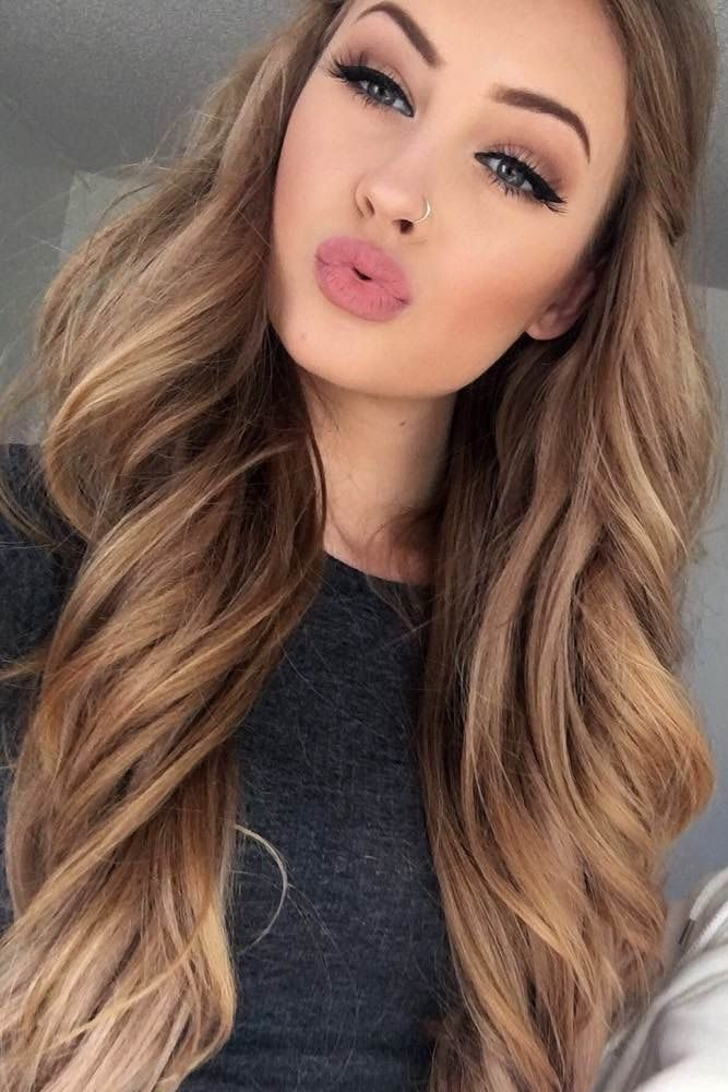 Brown Hair coloring #20, Download drawings