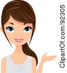 Brunette clipart #18, Download drawings