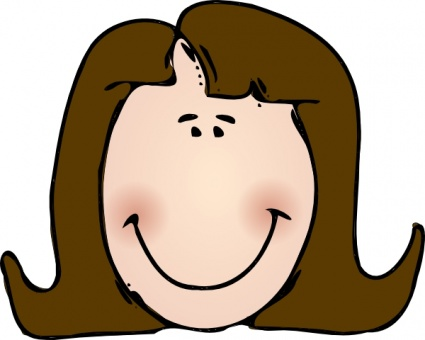 Brunette clipart #10, Download drawings