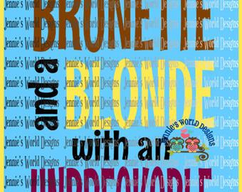 Brunette svg #16, Download drawings