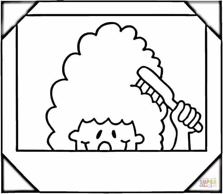 Brush coloring #7, Download drawings