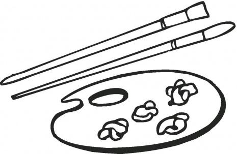 Brush coloring #18, Download drawings