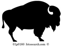 Buffalo clipart #1, Download drawings