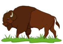 Buffalo clipart #3, Download drawings