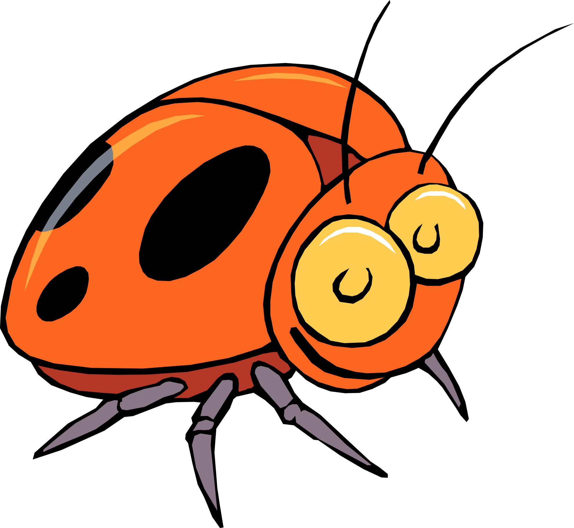 Bug clipart #4, Download drawings
