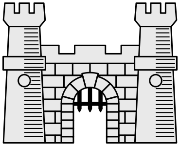 Castle svg #264, Download drawings