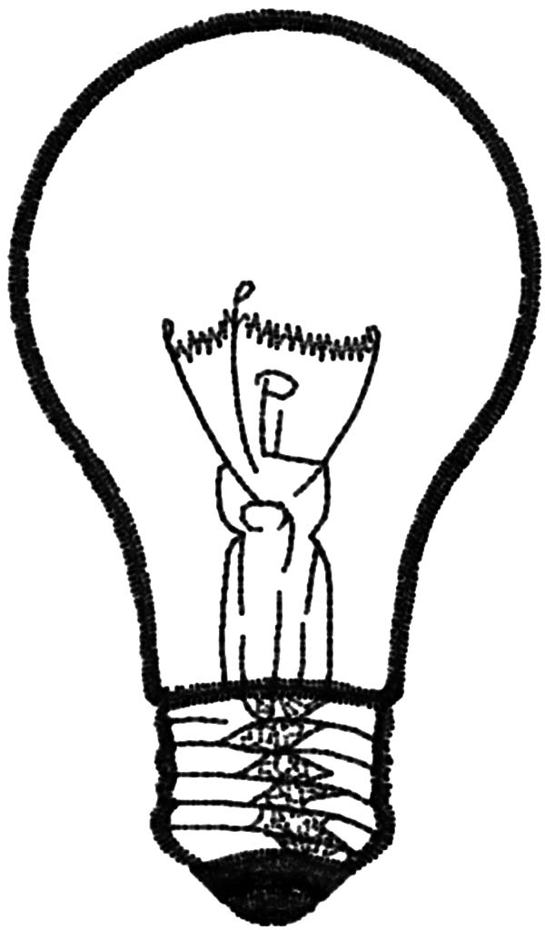 Bulb Coloring Download Bulb Coloring For Free 2019