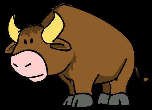Bulls clipart #5, Download drawings