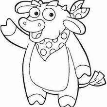 Bull coloring #1, Download drawings