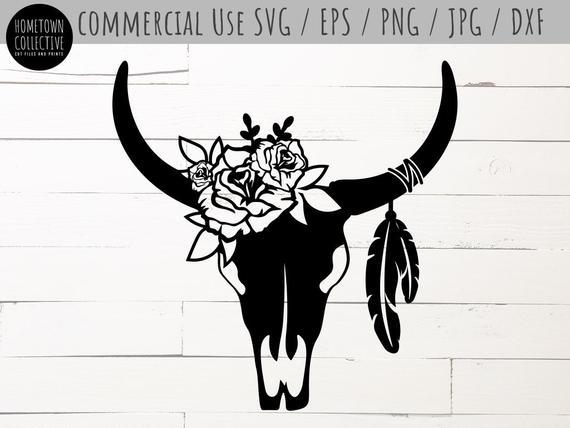 bull skull svg #448, Download drawings