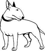 Bull Terrier clipart #3, Download drawings