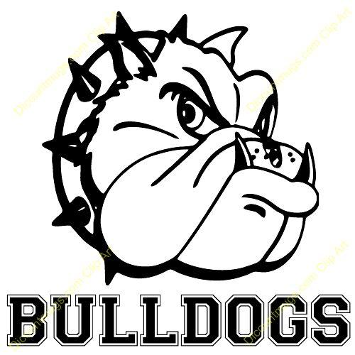 Bulldog clipart #12, Download drawings