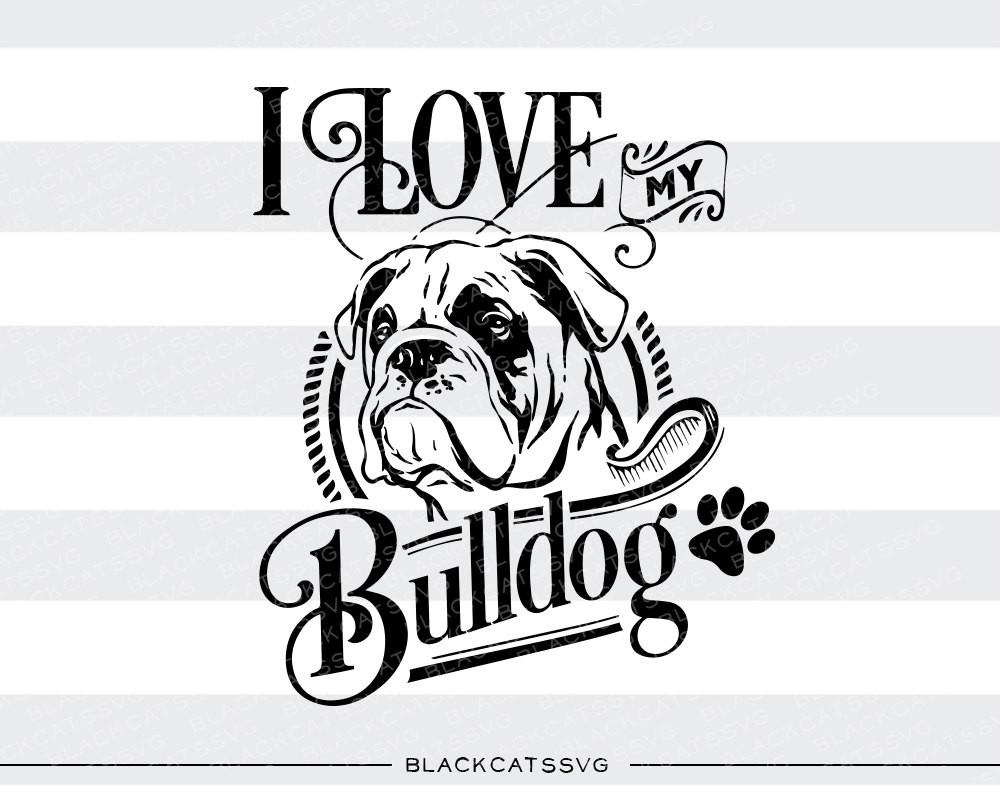 Bulldog svg #10, Download drawings