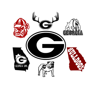 georgia bulldog svg #613, Download drawings