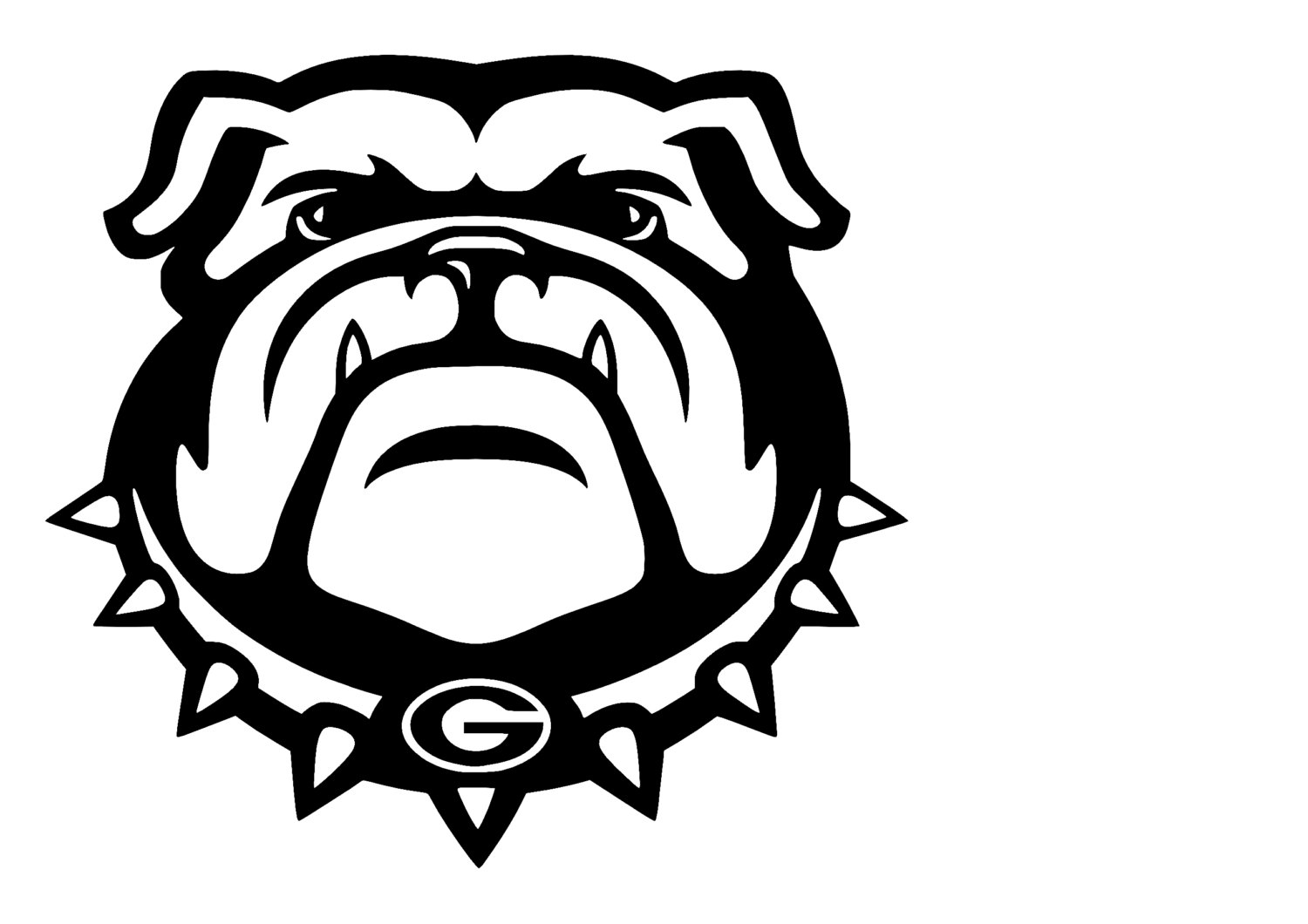 georgia bulldog svg #614, Download drawings