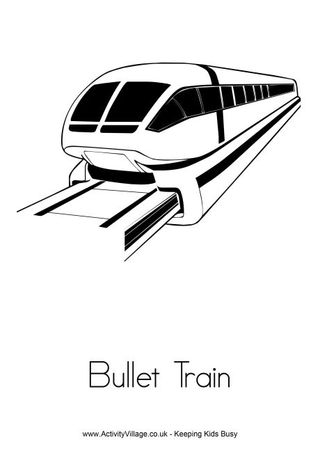 Bullet coloring #10, Download drawings