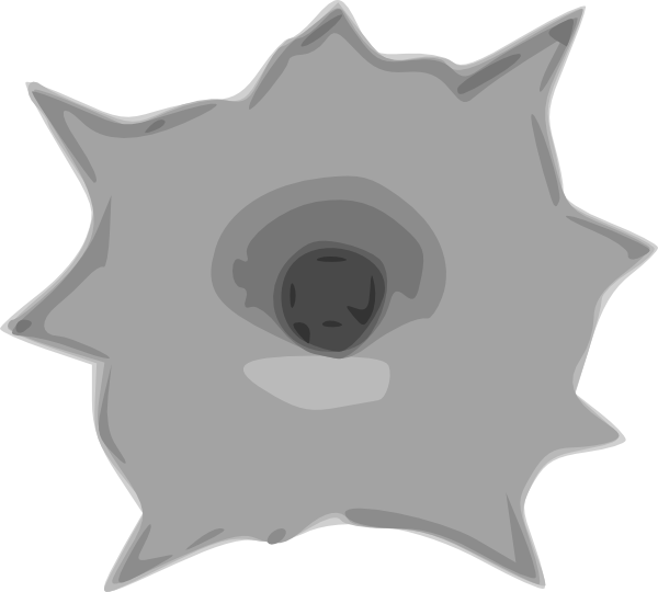 Bullet Hole clipart #12, Download drawings