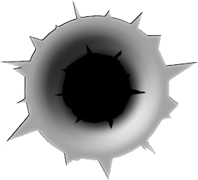 Bullet Hole clipart #4, Download drawings