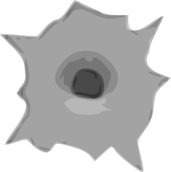 Bullet Hole clipart #8, Download drawings