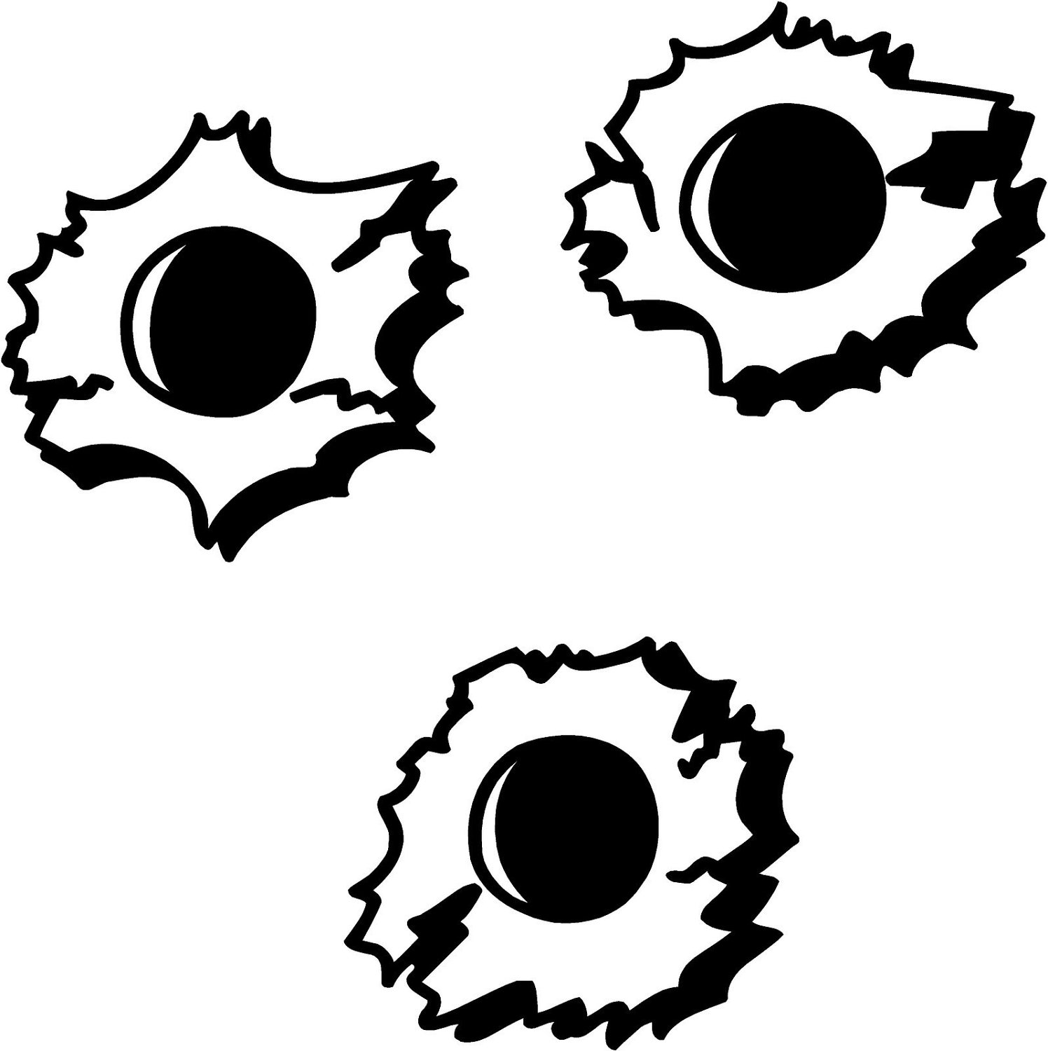 Bullet Hole clipart #3, Download drawings