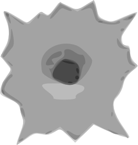 Bullet Hole clipart #14, Download drawings