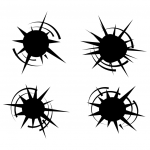 Bullet Hole svg #2, Download drawings