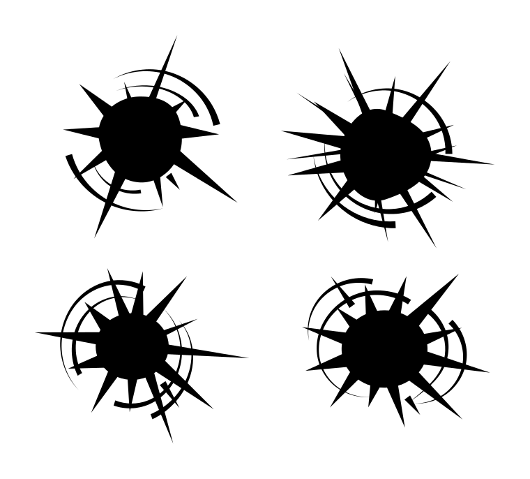Bullet Hole svg #8, Download drawings