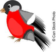 Bullfinch clipart #15, Download drawings