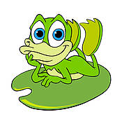 Bullfrog clipart #3, Download drawings