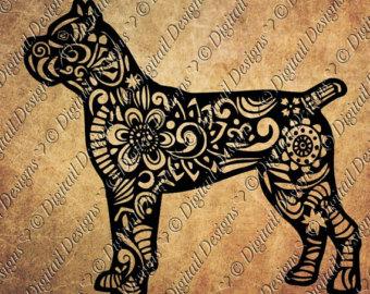 Bullmastiff svg #10, Download drawings