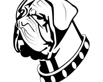 Bullmastiff svg #11, Download drawings