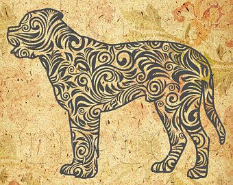 Bullmastiff svg #17, Download drawings