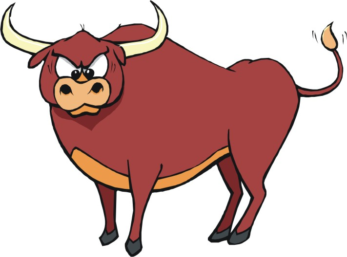Bulls clipart #1, Download drawings