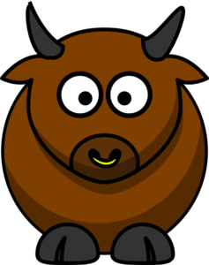 Bulls clipart #4, Download drawings